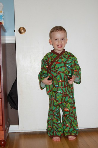 Porter's 3 Year Old Pjs