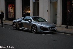 Audi R8 V10 (Richard T Smith) Tags: street london nikon bond audi prada w1 rolex v10 supercars r8 d60