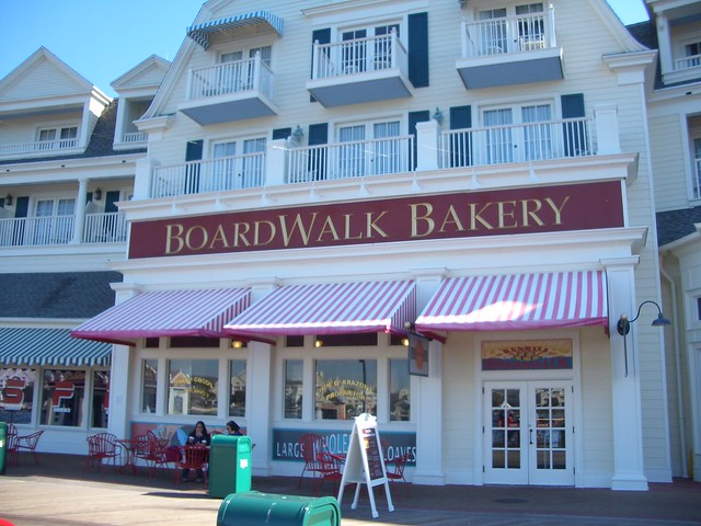 Boardwalk, Boardwalk Bakery Sign 1