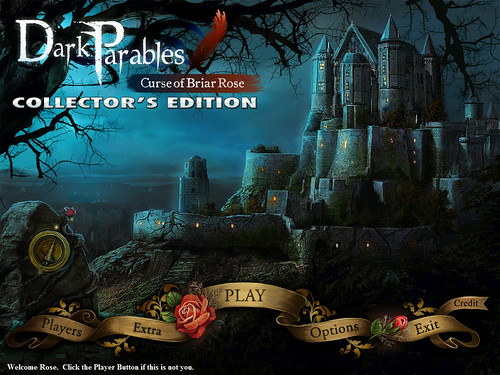 Dark Parables main menu