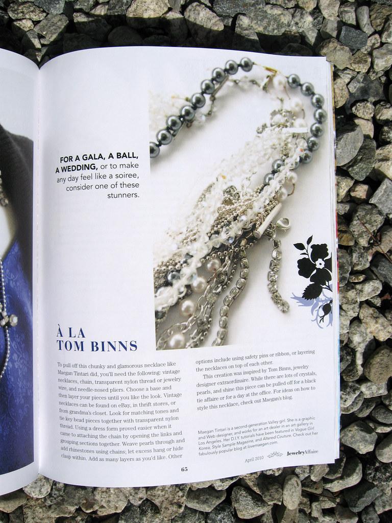 Jewelry Affaire Spring 2010 Tom Binns Necklace DIY 3