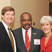 Rep. Patrick Kennedy and HHS Secretary Kathleen Sebelius with Bill Bentley, CEO and President of Voices