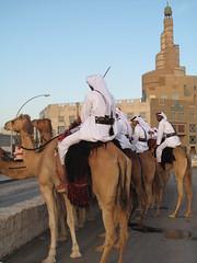 Camel Riders - Souq Waqif, Doha, Qatar