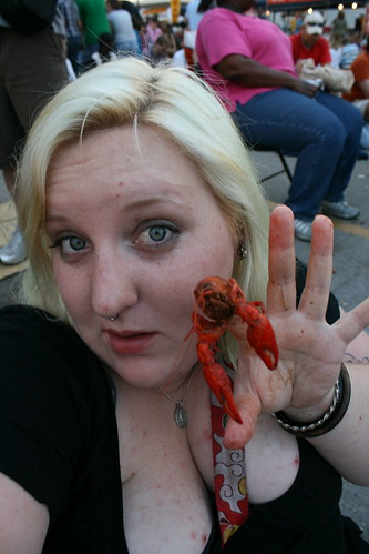 crawfish for dinner