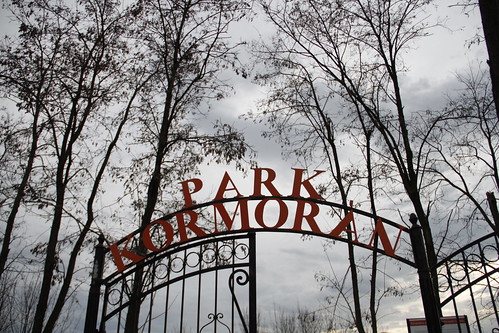 Entering Park Kormoran