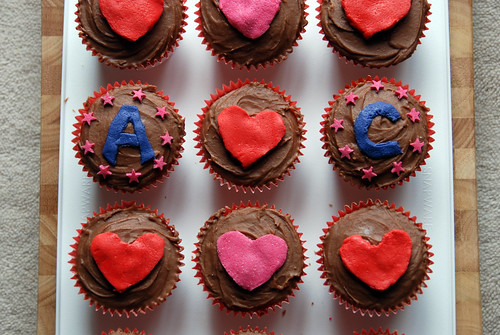 Cupcakes: A hearts C