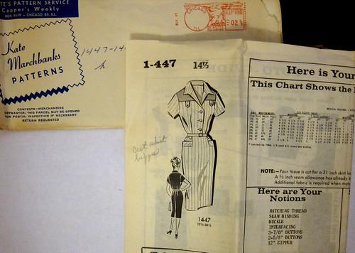 Vintage Mail Order Pattern 1447
