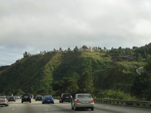 405 with overlooking homes