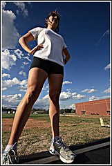 Mighty Kat (vlandyra) Tags: donna track running workout warnerrobins sigma1020 vlandyra macontracks capturedimagephotography