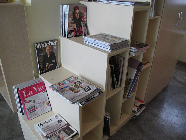 二樓雜誌區