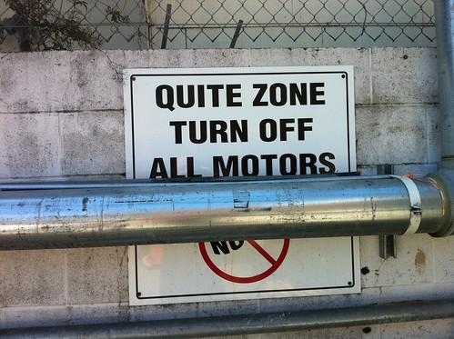 Quite Zone