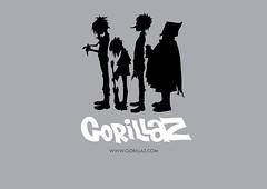 Gorillaz Design T-shirt (F. Daniel's) Tags: design russel noodle 2d gorillaz murdoc plasticbeach