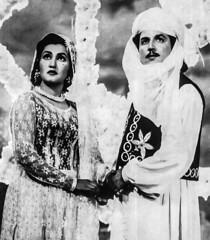 Noor Jahan and Sudhir (Doc Kazi) Tags: pakistan light music india cinema heritage film lyrics arts singer actress classical noor jahan nur jehan malkaetarranum