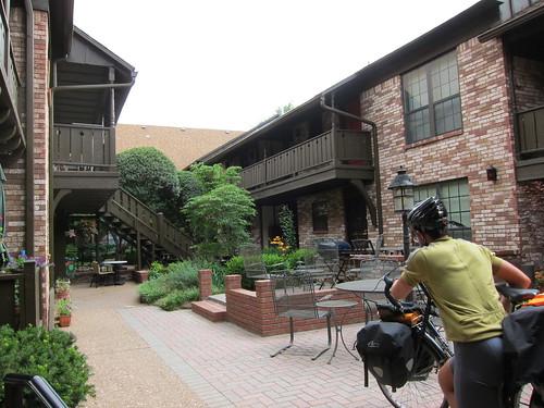 Wendelene's courtyard