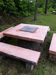 オートキャンプAタイプのテーブル