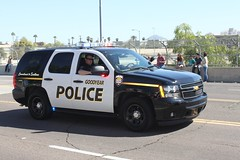 Goodyear (AZ) Police Department (pjgeraghty) Tags: tahoe police az goodyear vision:car=0942 vision:outdoor=0985 goodyearpolicedepartment