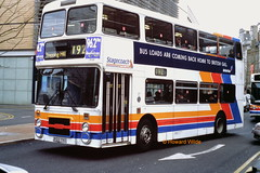 The Magic's gone (SelmerOrSelnec) Tags: stagecoachmanchester leyland olympian northerncounties b122tvu 192 manchester piccadilly gmt bus