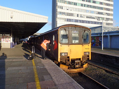 150122 Plymouth (Marky7890) Tags: gwr 150122 class150 sprinter 2p91 plymouth railway train devon tamarvalleyline