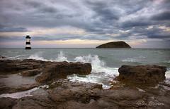 Penmon (*Helen Bingham*) Tags: lighthouse clouds canon rocks waves fave anglesey penmon puffinisland penmonpoint 5dmkii 5dmk2 helenbingham
