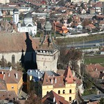 Sighisoara:  The Town HallThe Clock Tower