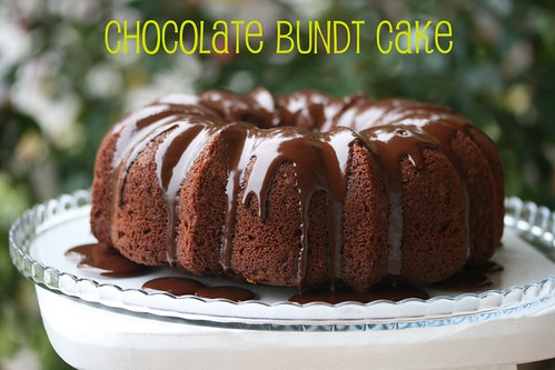 Martha Stewart Chocolate Bundt - I Like Big Bundts
