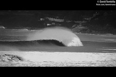 Line... (David Tombilla) Tags: david surf wave pico prado vigo ola patos nigran blackwhitephotos tombilla