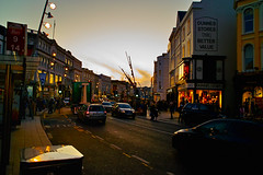 St Patrick's St in the Evening 2 (Shinji Yamada) Tags: street ireland cork sigma dp1