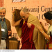 Dr Niru vora welcoming His Holiness the XIV Dalai lama also in the photo Prof Ananthmurthy
