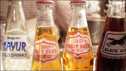 Fruit beer in the Jodhpur market
