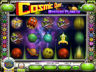 Cosmic Quest Episode Two slot game online review