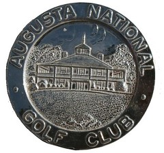 1940 Augusta Masters Runner-Up medal obv