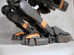 Lego Mecha, Archangel Michael (SnowLeopard) Tags: monster mac lego ii online gears mecha mech neumann osteroc