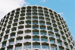 1 Kemble Street (Matthew Benjamin Coleman) Tags: england colour slr london film 35mm 50mm nikon 1966 architect holborn 1960s nikkor50mmf18 centrallondon fe2 concete wesminster spacehouse cityofwestminster 1kemblestreet wc2b richardseifert onekemblestreet
