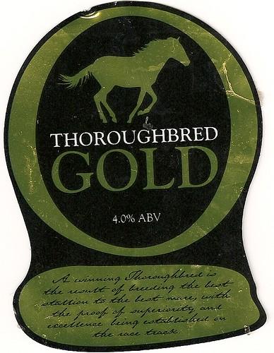 Thwaites Thoroughbred Gold