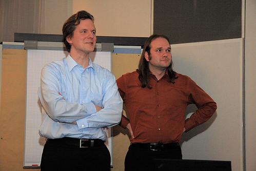 Gerd Wütherich and Nils Hartmann
