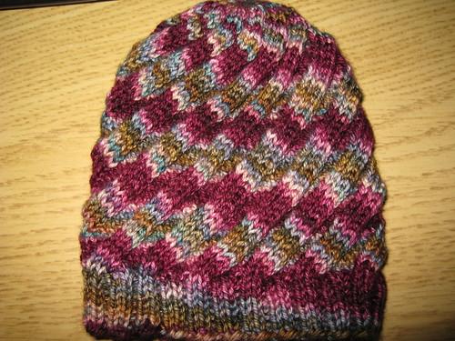 Baby swirl hat