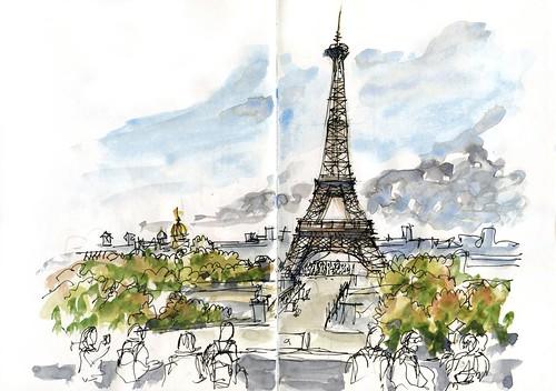 Paris03_03 Effiel Tower