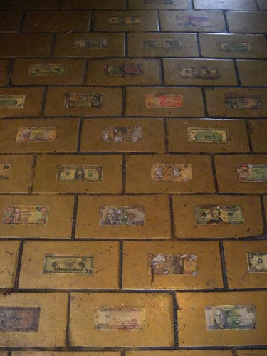 THE FLOORS ARE FULL OF CASH!!!