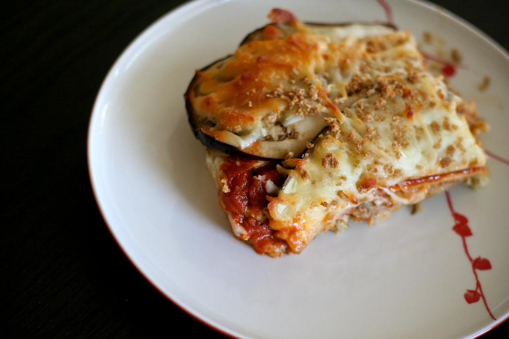 Eggplant & Sausage Casserole