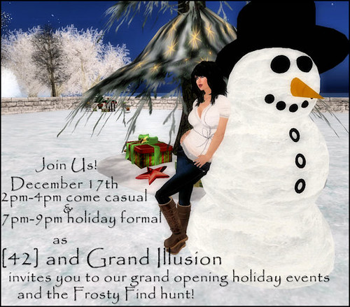 [42] & Grand Illusion holiday events
