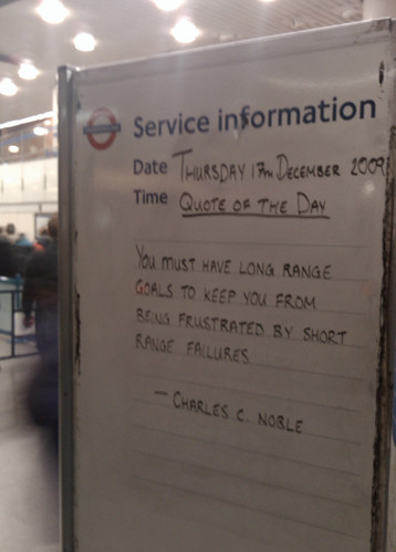 King's Cross - Quote of the Day by Matthew V