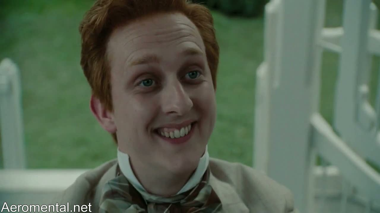 Alice in Wonderland ugly guy smiling