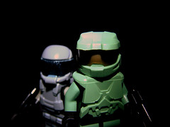 (Firespray1138) Tags: lego halo masterchief brickarms odst brickforge