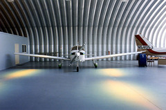 SteelMaster Metal Airplane Hangar