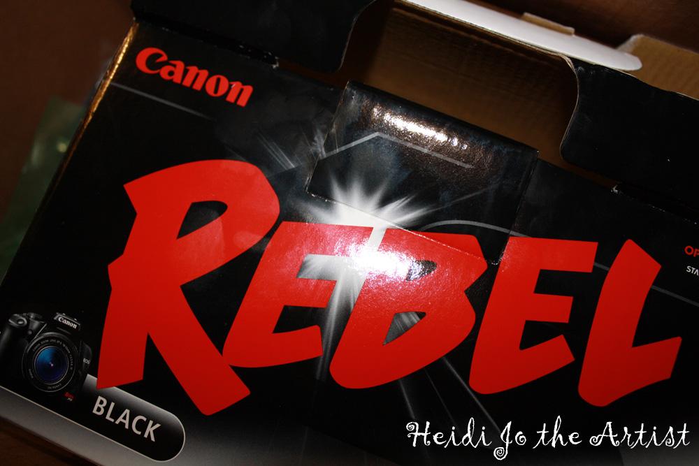 Canon Rebel Box