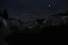 (mimimalistic) Tags: sky black night dark way stars la darkness shot empty aliens landing aachen belichtung chapelle emptiness octagon aix sterne mily langzeit mimimalistic milchstrase