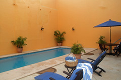 Pool at Hotel Castlemar Campeche