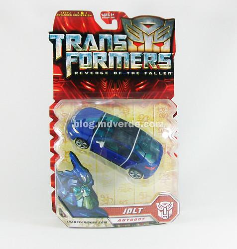 Transformers Jolt RotF Deluxe - caja