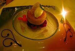 Napa Rose's Meyer Lemon Creme Brulee Tart, Anaheim CA (Chad A Adams) Tags: food dessert lemon disneyland yelp anaheim meyer foodie naparose andrewsutton winter2010 cremebruleetart grandcalifornianfood