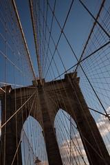 The Brooklyn Bridge_MG_0784 (Andy McCarthy UK) Tags: city nyc newyorkcity travel skyline brooklyn walking break gothic arches landmark brooklynbridge eastriver suspensionbridge roebling thebridge pedestrianwalkway thebrooklynbridge
